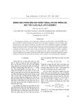 Động lực phản ứng oxi hoàn toàn p-xyle trên các xúc tác CuO/ -Al2O3 Vµ CuO/ZSM-5