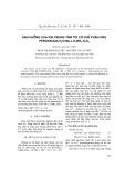 Ảnh hưởng của ion trung tâm tới cơ chế phản ứng peroxidaza H2O-Me-L-H3BO3-H2O2