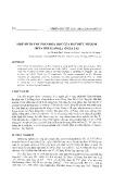 Một số thành phần hóa học của hạt điều nhuộm (Bixa orellaral.) ở Gia Lai