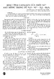 Hoạt tính catalaza của phức Nì+ axit xittric trong hệ H2O2 - Ni2+ - H4L - H2O2