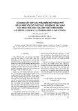 Sử dụng kết hợp các phần mềm mô phỏng phổ MS và NMR với các phổ thực nghiệm để xác định cấu trúc hóa học của hợp chất thiên nhiên 4-(5-penta-1,3-diyn-1-yl-2-thienyl)but-3-yne-1,2-diol)