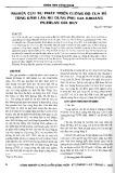 Nghiên cứu sự phát triển cường độ của bê tông đầm lăn sử dụng phụ gia khoáng puzolan Gia Huy