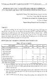 Đánh giá xúc tác và nguyên liệu cho quá trình FCC của nhà máy lọc dầu Việt Nam bằng phương pháp M.A.T.