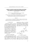 A new 3 -acetoxy-urs-23,28,30-trioic acid from the leaves of Acanthopanax trifoliatus