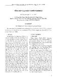 Tổng hợp Cu2O kích thước Nanomét