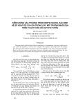 Kiểm chứng các phương trình Debye-Huckel xác định hệ số hoạt độ của ion trong các môi trường muối dựa trên thuật toán hồi quy phi tuyến