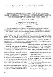 Nghiên cứu sự tạo phức đơn, đa khối phân tử của đysprosi, honmi với l-lơxin, l-tryptophan, l-histidin và axetyl axeton trong dung dịch bằng phương pháp chuẩn độ đo pH