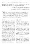 Một số kết quả nghiên cứu ban đầu về thành phần hóa học của cây Bằng Lăng Nước (Lagerstroemia Speciosa)
