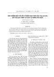 Ảnh hưởng một số yếu tố đến hoạt tính xúc tác Au/CeO2 đối với quá trình oxi hóa CO bằng hơi nước