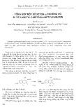 Tổng hợp một số xeton – không no đi từ 3-Axetyl-7-metoxi-4-Metylcumarin