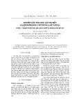Nghiên cứu hóa học cây bọ mẩy (Clerodendron cyrtophyllum turcz.) - Phần 1: Thành phần hóa học dịch chiết n-hexan của rễ cây