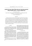 Nghiên cứu quá trình tổng hợp axit tricloiso-xianuric bằng phương pháp lý thuyết hàm mật độ
