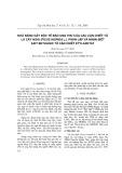 Khả năng gây độc tế bào ung thư của các cặn chết từ lá cây ngái (ficus hispida l.). Phân lập và nhận biết axit betulinic từ cặn chết etylaxetat