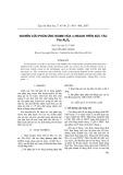 Nghiên cứu phản ứng isome hóa n-hexan trên xúc tác Pt/-Al2O3
