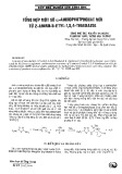 Tổng hợp một số a-aminphotphonat mới từ 2-amino-5-etyl-1,3,4-thiadiazol