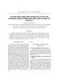 Xác định hàm lượng tổng cácbon hữu cơ hòa tan trong một số môi trường nước bằng thiết bị phân tích anatoc II