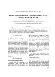 Phenolic Constituents of Lonicera japonica Thunb.,Caprifoliaceae, of Vietnam
