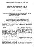 Tổng hợp, đặc trưng của Rây phân tử Fero-Aluminosilicophotphat (FSAPO-5)