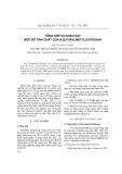 Tổng hợp và khảo sát một số tính chất của N-(2-furylmetyl)chitosan