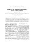 Nghiên cứu tính chất của Bazơ của zeolit bằng phương pháp hóa lượng tử