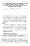 Nghiên cứu tổng hợp Levofloxacin, thuốc kháng sinh nhóm fluoroquinolon thế hệ thứ ba