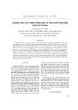Nghiên cứu quá trình tổng hợp và tính chất dẫn điện của Polypyrol