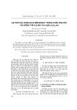 Vai trò của dung dịch đệm borat trong phản ứng xúc tác đồng thể H2O-Mn2+-En-H3BO3-H2O2-Ind