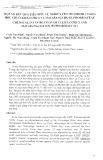 Một số kết quả tiêu biểu về nghiên cứu thành phần hóa học chi Cleistanthus và Macaranga họ Euphorbiaceae