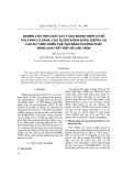 Nghiên cứu tính chất cơ lý của blend trên cơ sở polyvinylclorua, cao su butadien-acrylonitril và cao su thiên nhiên chế tạo bằng phương pháp nóng chảy kết hợp với cán trộn