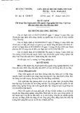 Quyết định số: 3128/QĐ-BCT