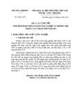 Bộ Công thương số: 47/BC-BCT