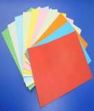 Nhuộm màu cho giấy