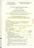 Giấy chứng nhận đăng ký doanh nghiệp công ty cổ phần