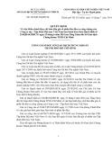 Quyết định số: 265/QĐ-SGDHCM
