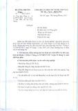 Bộ Công thương số: 1793/BCT-KHCN