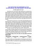 Giải pháp về đào tạo nguồn nhân lực cho các khu chế xuất, khu công nghiệp thành phố Hồ Chí Minh - VS.TSKH. Nguyễn Chơn Trung