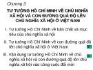 Bài giảng Tư tưởng Hồ Chí Minh: Chương 3 - GV. Lê Thị Ái Nhân