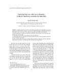 Ngôn ngữ học tạo sinh của n.chomsky: lí thuyết chuẩn hay mô hình các bình diện