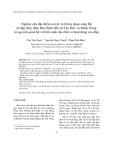 Nghiên cứu đặc điểm xói lở và bồi tụ đoạn sông Đà từ đập thủy điện Hòa Bình đến xã Tân Đức và Minh Nông trong mối quan hệ với bối cảnh địa chất và hoạt động của đập