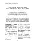 Về thực tập sư phạm của sinh viên hệ sư phạm Trường Đại học Ngoại ngữ - Đại học Quốc gia Hà Nội