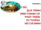 Bài giảng Tư tưởng Hồ Chí Minh: Chương 1 - GV. Hải Ngọc (ĐH Kinh tế TP.HCM)