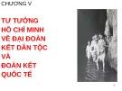 Bài giảng Tư tưởng Hồ Chí Minh: Chương 5 - GV. Hải Ngọc (ĐH Kinh tế TP.HCM)