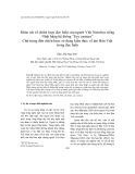 """Khảo sát về chiến lược đọc hiểu của người Việt Nam học tiếng Nhật bằng hệ thống """"Eye camera"""" Chú trọng đến chiến lược sử dụng kiến thức về âm Hán Việt trong đọc hiểu"""