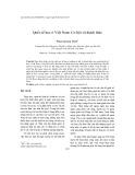 Quốc tế học ở Việt Nam: Cơ hội và thách thức