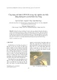 Ứng dụng mô hình LITPACK trong việc nghiên cứu biến động đường bờ của bãi biển Cửa Tùng