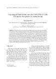Ứng dụng mô hình khí hậu toàn cầu CAM-SOM và CAM-CFS dự báo thử nghiệm các trường khí hậu