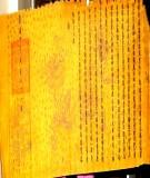 Nghề làm giấy sắc phong  -  một di sản văn hoá đặc sắc của Hà Nội