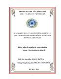 Tóm tắt Khóa luận tốt nghiệp: Quan hệ hôn nhân của người H'mông ở Mường Lạn (Sốp Cộp, Sơn La) với người H'mông ở  Mường Xừm (Mường Ét, CHDCND Lào)