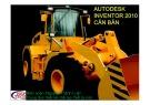 Bài giảng Autodesk Inventer 2010 căn bản - Nguyễn Thành Luân