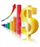 Nguyên lý Kinh tế học - Chương 3: Hệ số co giãn và ứng dụng